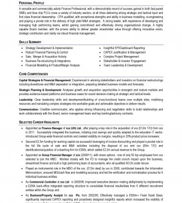 professional cv format free download for 2015 2016